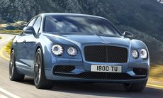 Bentley Flying Spur W12 S passerar 200 mph – gör 322 km/h