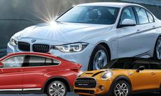 BMW kan lansera eldrivna versioner av 3-serien, X4 och Mini