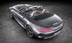 Mercedes-AMG GT C Roadster ökar effekten – fakta och bilder