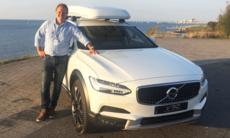 """Alrik om Volvo V90 Cross Country: """"Den är kaxigare"""""""