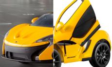 Eldriven McLaren P1 Roadster för 4.000 kronor