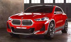 BMW X2 Concept visar sportig suvcoupé – lillebror till X4 och X6