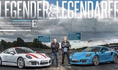 Test: Porsche 911 R mot 911 GT3 RS