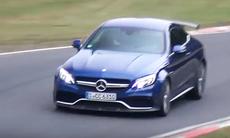 Mercedes-AMG C63 R med över 500 hk på Nürburgring
