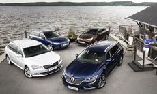 Test: Audi A4, Renault Talisman, Skoda Superb, Toyota Avensis