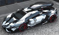 Jon Olsson presenterar sin Lamborghini Monster Huracan – över 800 hk