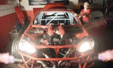 Lyssna på världens läckraste Toyota – med Ferrarimotor