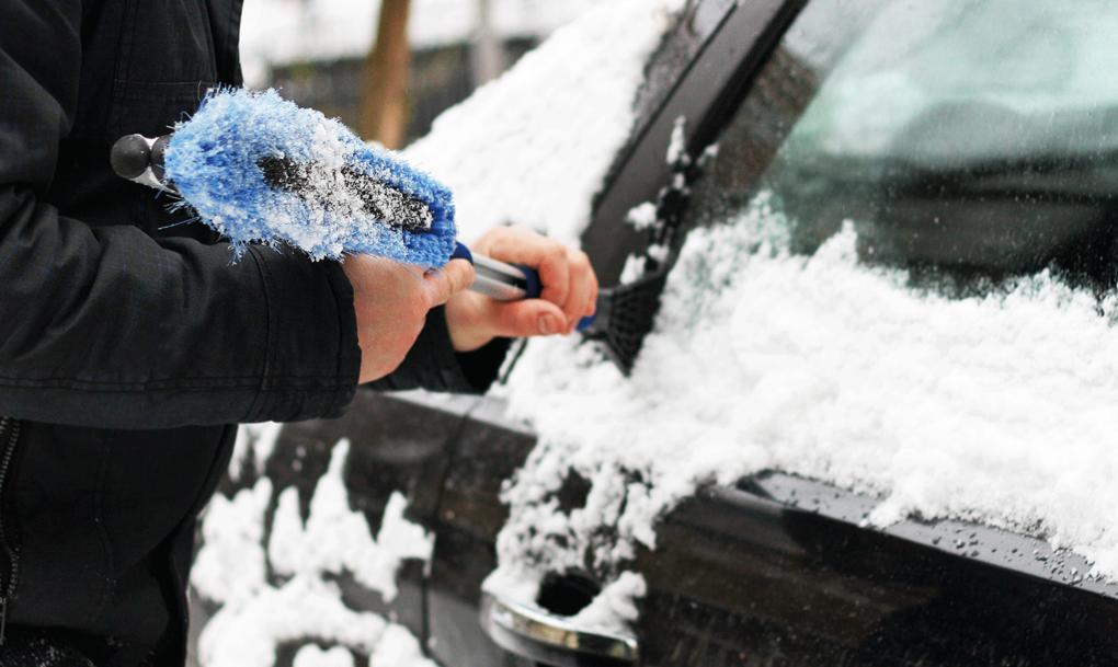 Isblock lossnade från bil – kan klassas som brott – auto