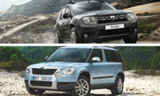 Kör du Skoda Yeti eller Dacia Duster?