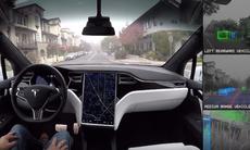 Fascinerande film: Tesla visar vad autopiloten ser