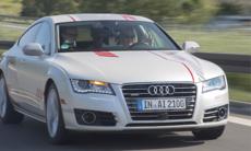 """Vi provkör Audis självkörande A7: """"Släpp kontrollen!"""""""
