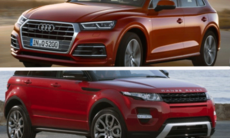 Kör du Audi Q5 eller Range Rover Evoque?