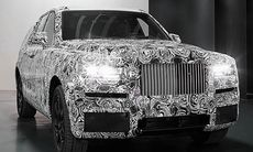 """Rolls-Royce visar första bilderna på nya suven """"Project Cullinan"""""""