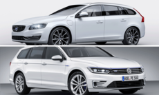 Kör du laddhybrid  – VW Passat GTE eller Volvo V60 Plug-in