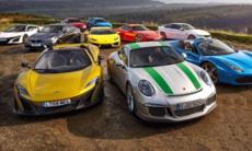 Prov: 10 supersportbilar gör upp – bästa sportbilen 2016