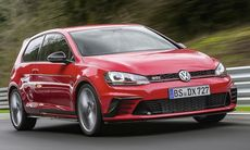 Rafflande final: VW Golf GTI Clubsport S ger stöd till Bris