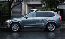 Uber testar självkörande Volvo XC90 i San Francisco