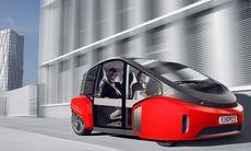 Rinspeed Oasis är världens första bil med inbyggd blombänk