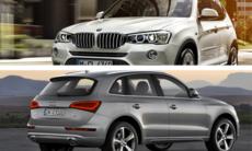 Kör du BMW X3 eller Audi Q5?