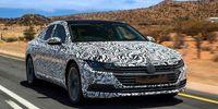 Volkswagen Arteon: Första provkörningen av efterträdaren till CC