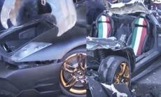 Här slits Lamborghinin i stycken på regeringens order