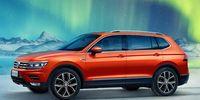 Volkswagen Tiguan Allspace – första bilderna läcker ut