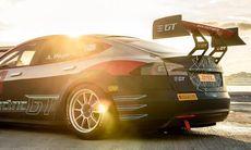 Electric GT körs igång 2017 med Tesla Model S P100D