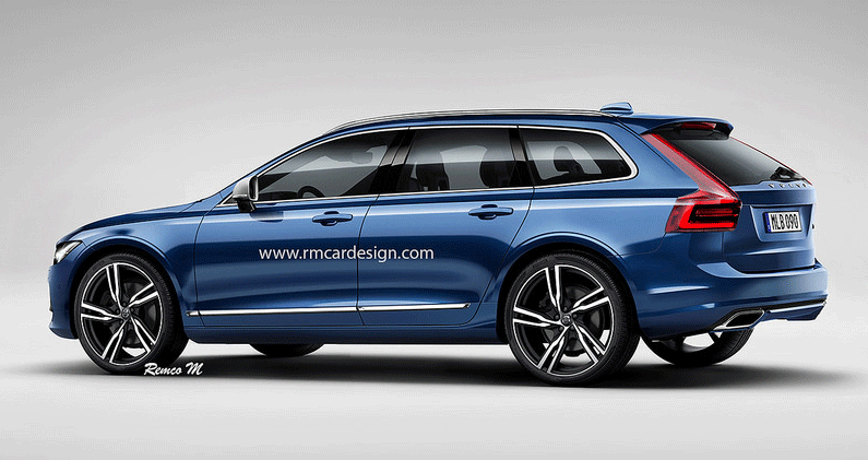 Sa Har Kan Nya Volvo V60 Se Ut Ar Den Snyggare Auto Motor Sport