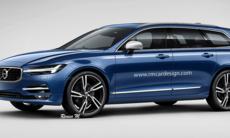 Så här kan nya Volvo V60 se ut – är den snyggare?
