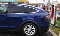 Långresa med Tesla Model X 90D: Här är resultatet efter 160 mil
