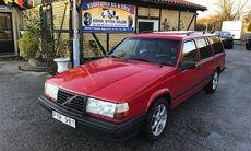 Volvo 945 i fint skick – men har skulder hos Kronofogden för 23.000 kronor
