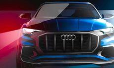 Audi Q8 visar nytt designspråk och en inredning utan knappar
