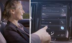 Volvo inför Skype Business till 90-modellerna – fler tjänster på väg
