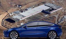 Tesla kör igång Gigafactory – stort steg mot massproduktion av Model 3