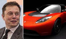 Elon Musk bekräftar: Ny Tesla Roadster på gång – men den kan dröja