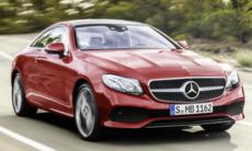 Svenskt pris på Mercedes E-klass Coupé
