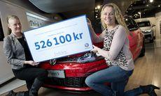 VW-auktion av Golf GTI Clubsport S ger Bris över en halv miljon kronor