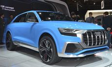 Audi Q8 är en ny coupésuv som utmanar BMW X6 och kommer som laddhybrid