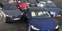 Test: Audi SQ7, Bentley Bentayga, Lexus RX 450h, Mercedes-AMG GLE, Range Rover Sport och Tesla Model X 90D