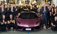 Rekord för Lamborghini – sålde 3.457 bilar under 2016