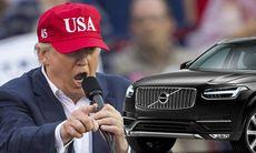 Trump hyllar biltillverkare som satsar i USA – Volvo hoppas på nya fabriken