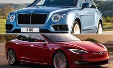 Stort sug efter sportbilar och lyxbilar – Tesla går om Porsche i Sverige