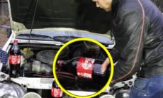 Detta händer om man byter ut motorolja mot Coca-Cola