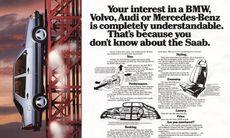 Saabs bästa och fyndigaste annonser – kommer du ihåg?