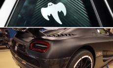 Därför har Koenigsegg ett spöke på bilarna
