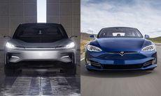 Tesla Model S P100D är (en tusendel) snabbare än Faraday FF91