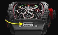 RM 50-03 Tourbillon kronografen är världens lättaste – kostar mer än en McLaren-bil