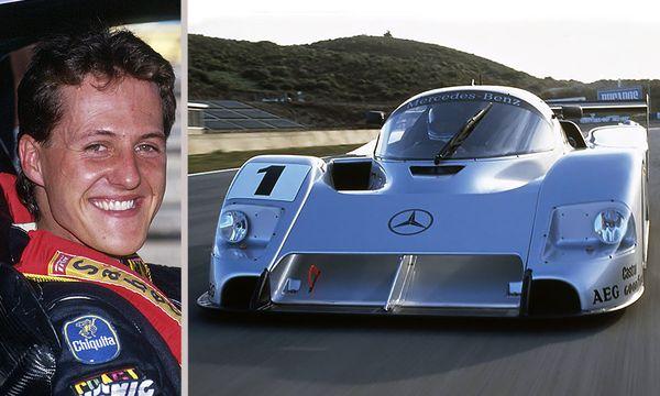 Mercedes C291 – hedern räddades av Schumacher