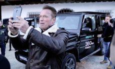 Mercedes G-wagen på gång med eldrift – Arnold Schwarzenegger är testpilot