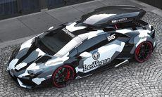 Jon Olssons unika Lamborghini Monster Huracan till salu – för ett fyndpris?